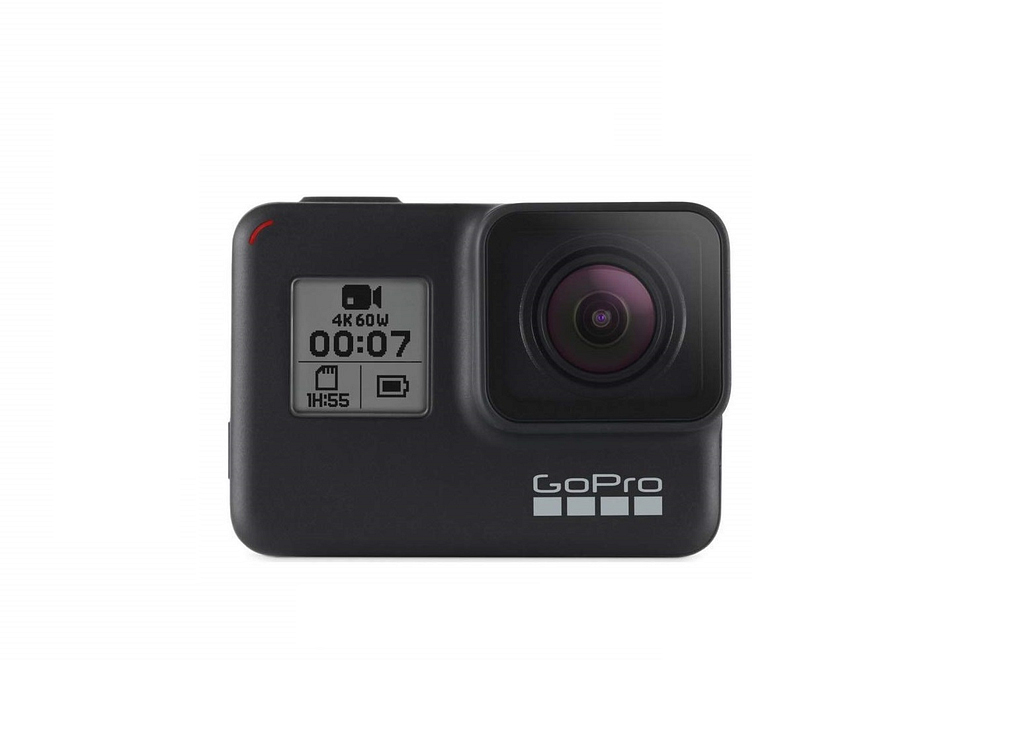 GoPro Action Camera with Dual Battery Charger