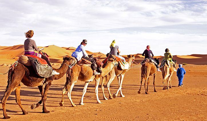 Camel Ride – A popular activity